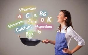 μαγείρεμα, βιταμίνες