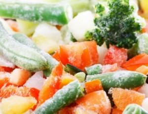 κατάψυξη λαχανικών
