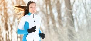 άσκηση στο κρύο, τρέξιμο στο κρυο