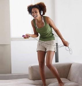 χορός στο σπίτι, απώλεια βάρους
